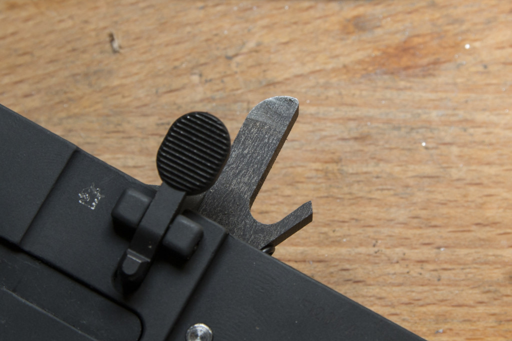 Marks from hammer taking contact with recoil spring guide