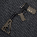 Bushmaster lower with FDE magpul
